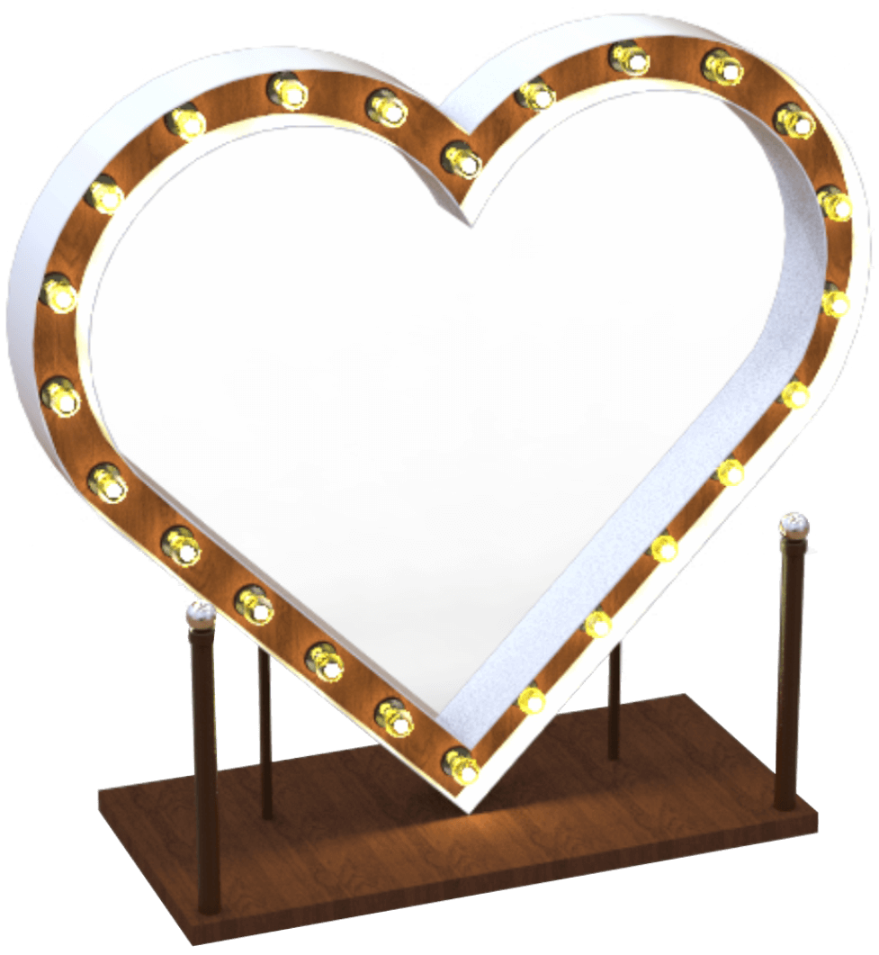 Сердце фотозона